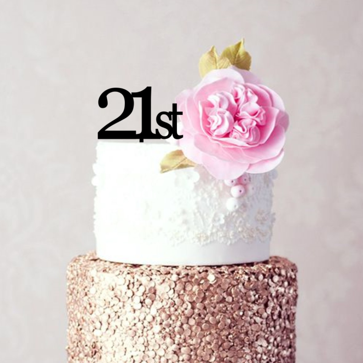 Quick Creations Cake Topper - 21st