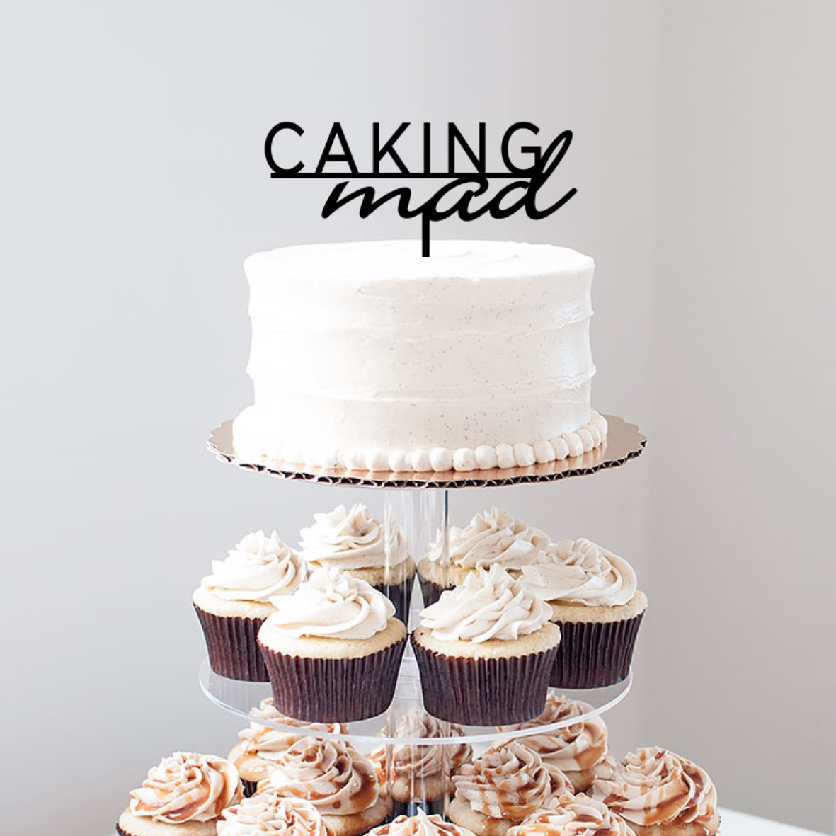 Caking Mad Cake Topper