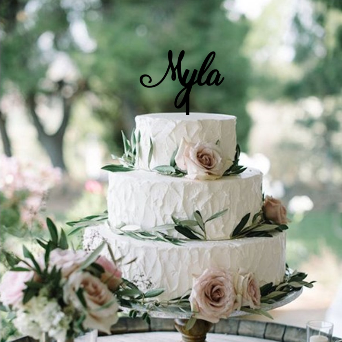 Quick Creations Cake Topper - Myla