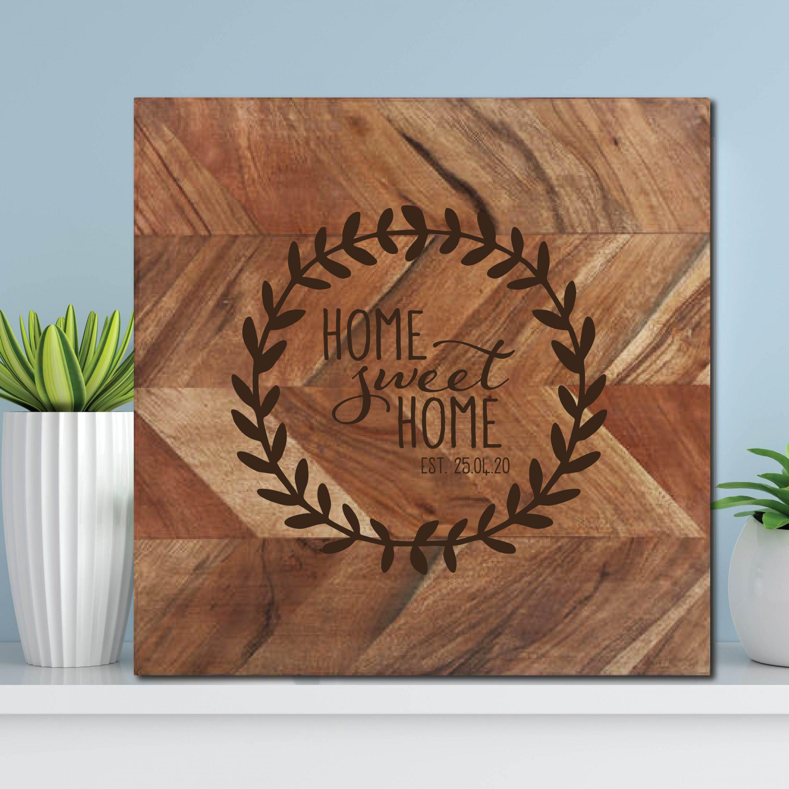 Home Sweet HomeChopping Board