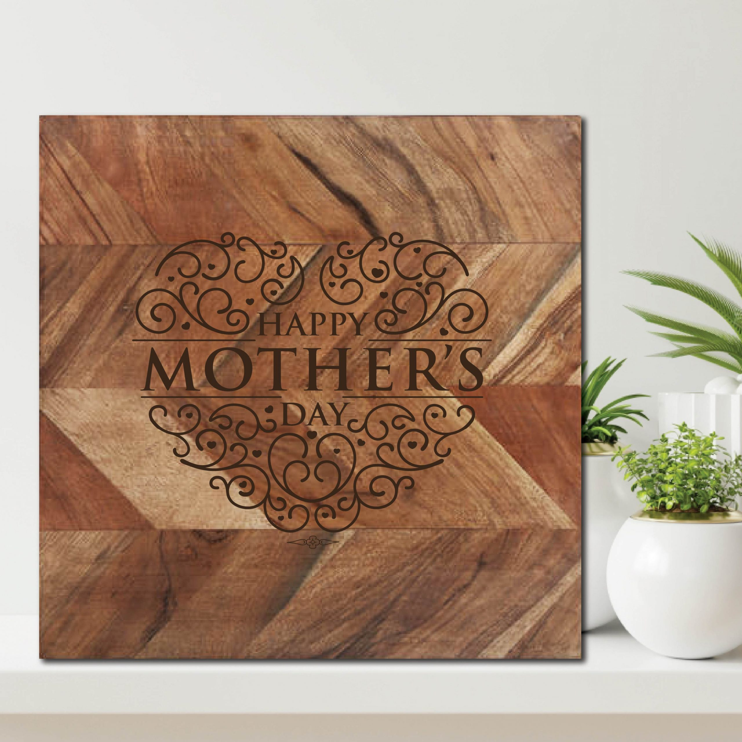 Happy Mothers Day Chopping Board